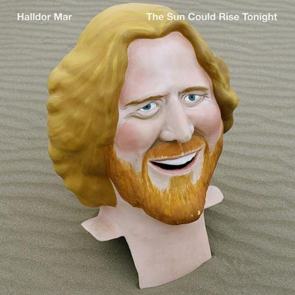 Cabezudo del cantante Halldor Mar